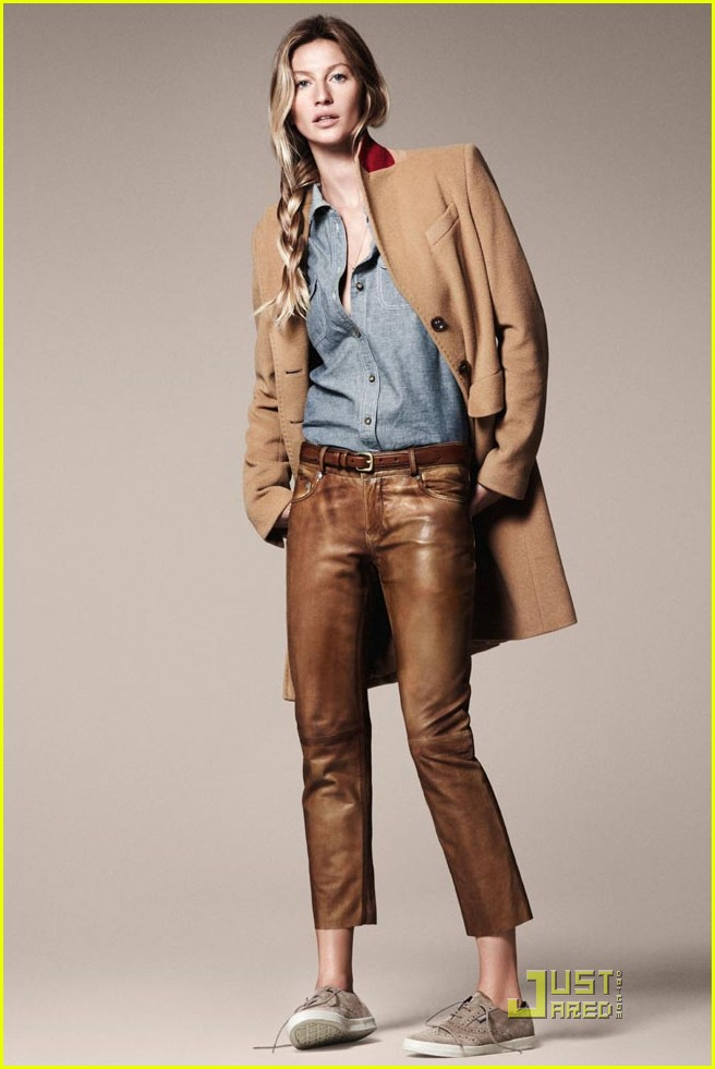 gisele bundchen esprit fall winter 2011 campaign 01