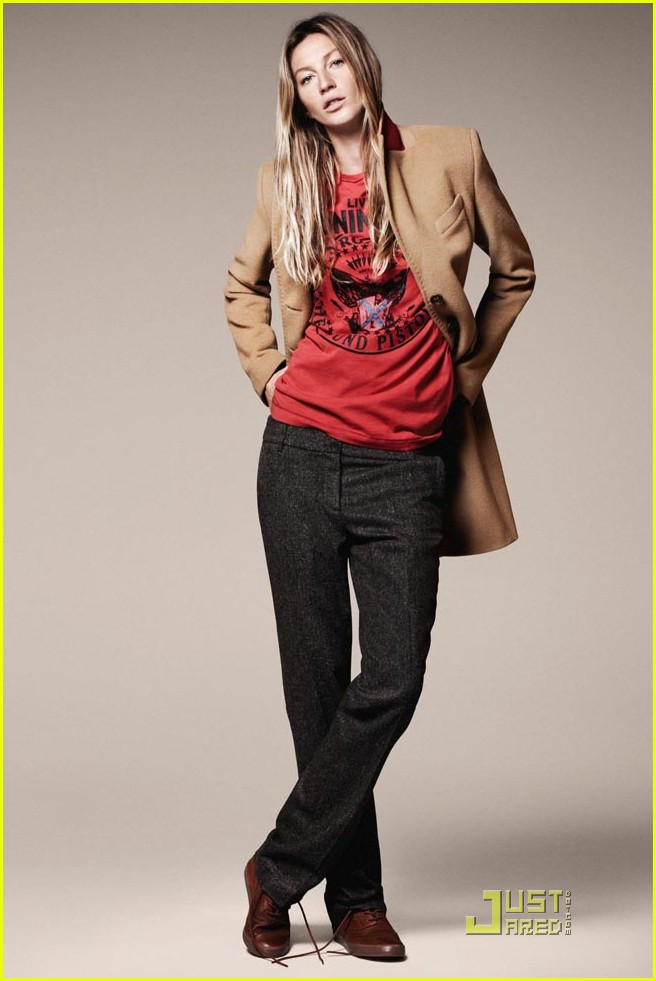 gisele bundchen esprit fall winter 2011 campaign 03