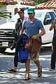 gerard butler walk beach 05