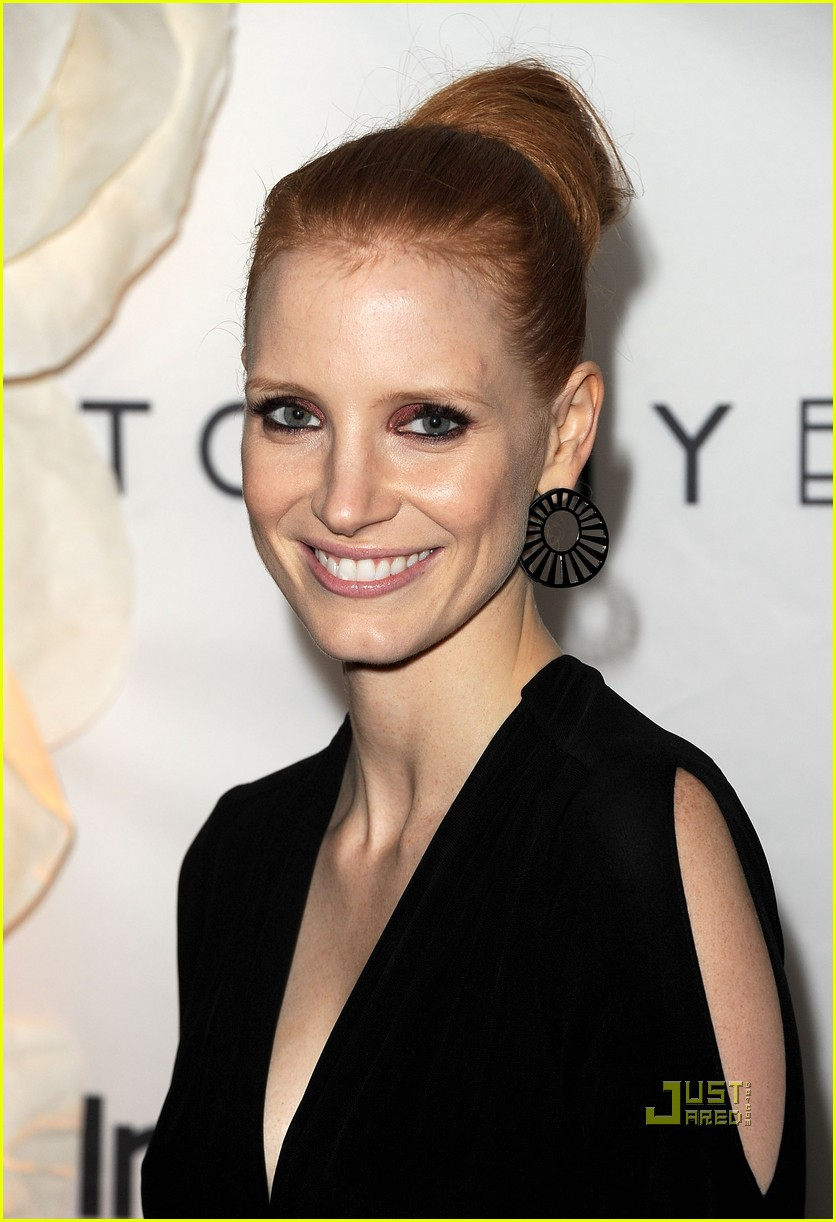 jessica chastain instyle hfpa event 012580352