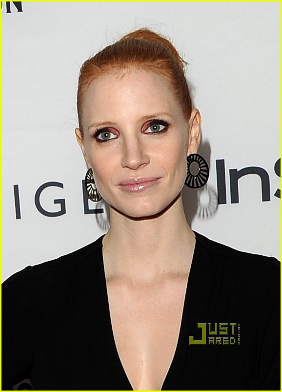 jessica chastain instyle hfpa event 082580359