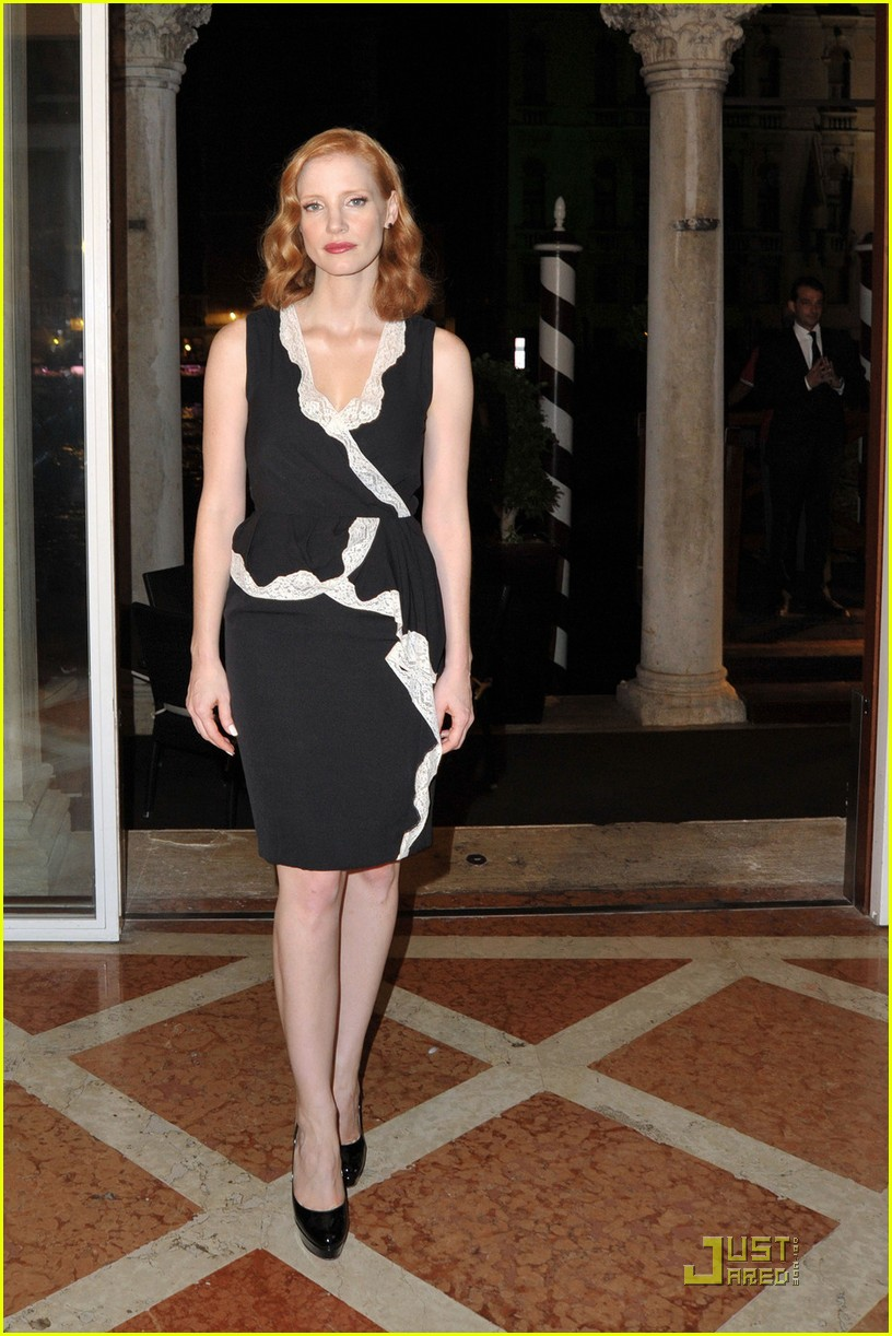 jessica chastain al pacino party 05