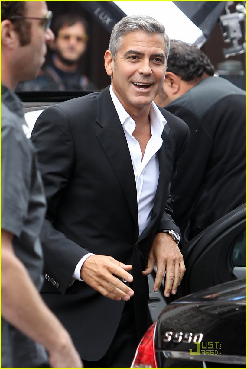 george clooney films mercedes commercial 042580951