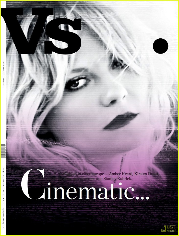 kirsten dunst vs cinematic issue 01