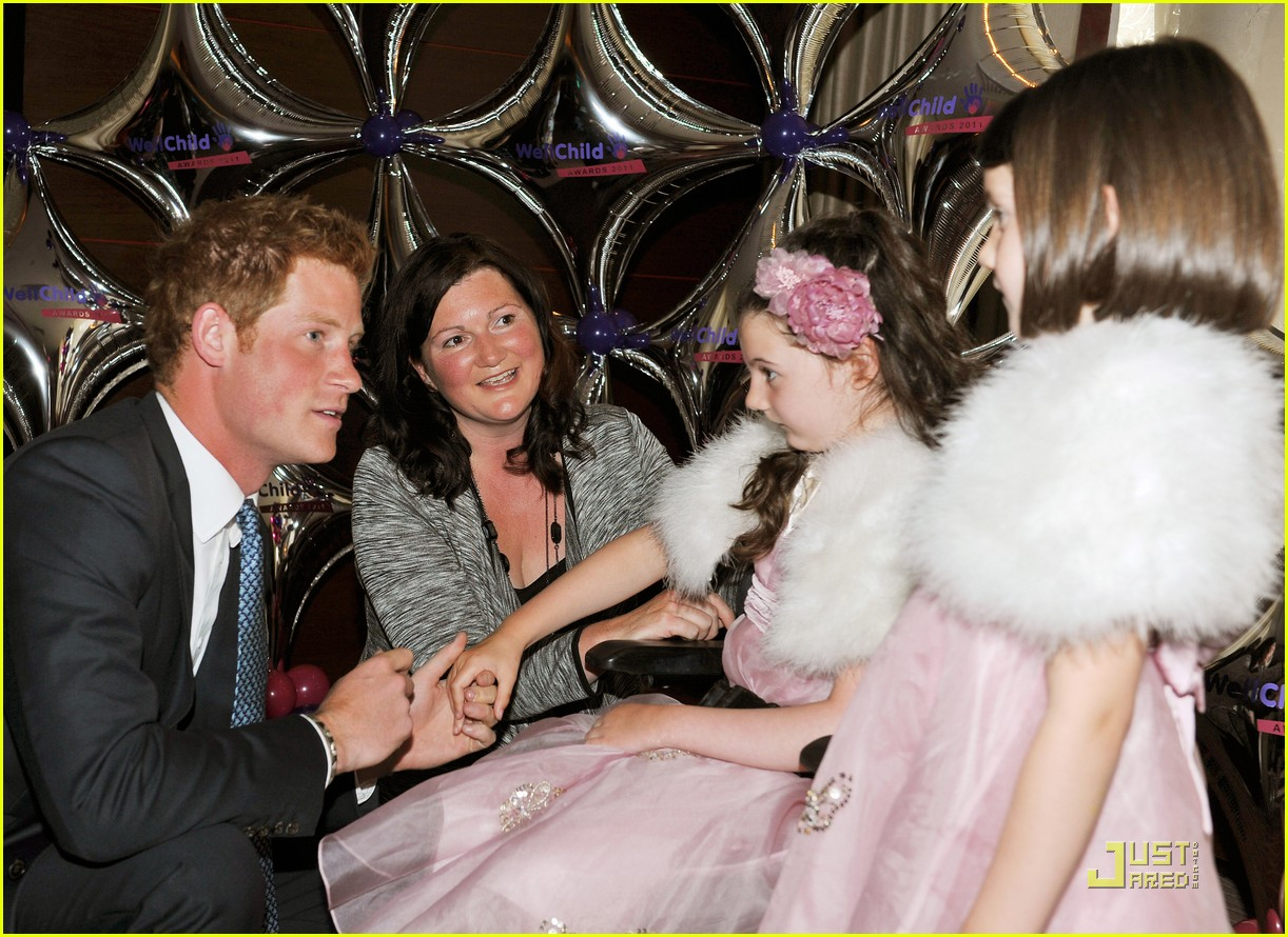 prince harry wellchild awards 10