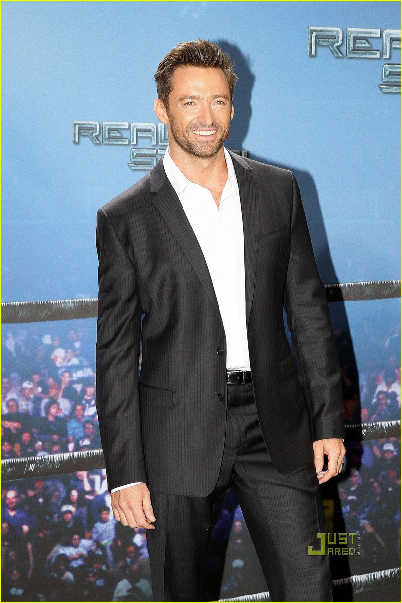 hugh jackman real steel photo call 09