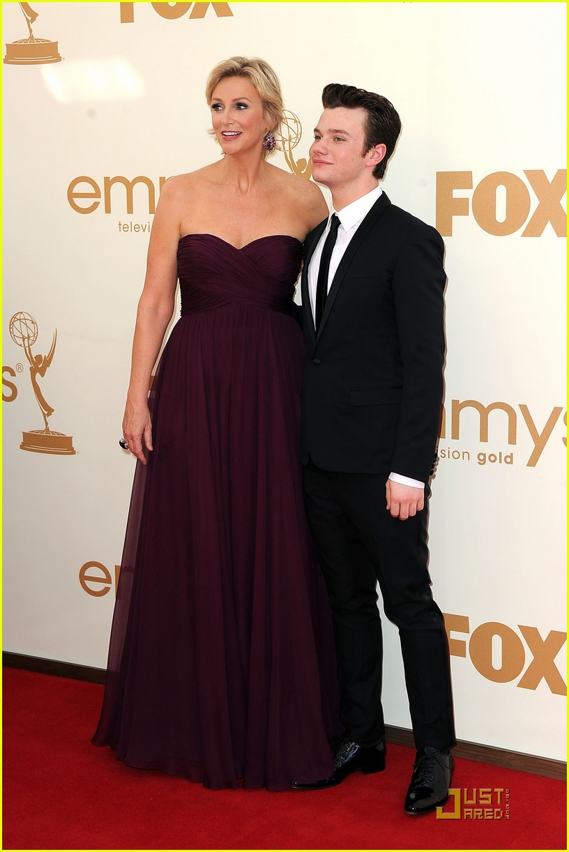 jane lynch emmys 2011 red carpet 032581552