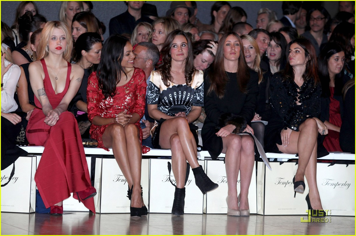 pippa middleton temperley london fashion show 08