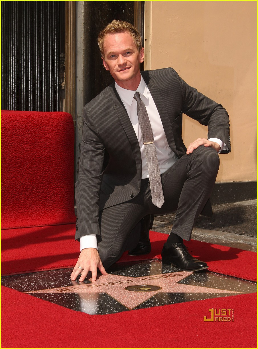 neil patrick harris hollywood walk of fame 13