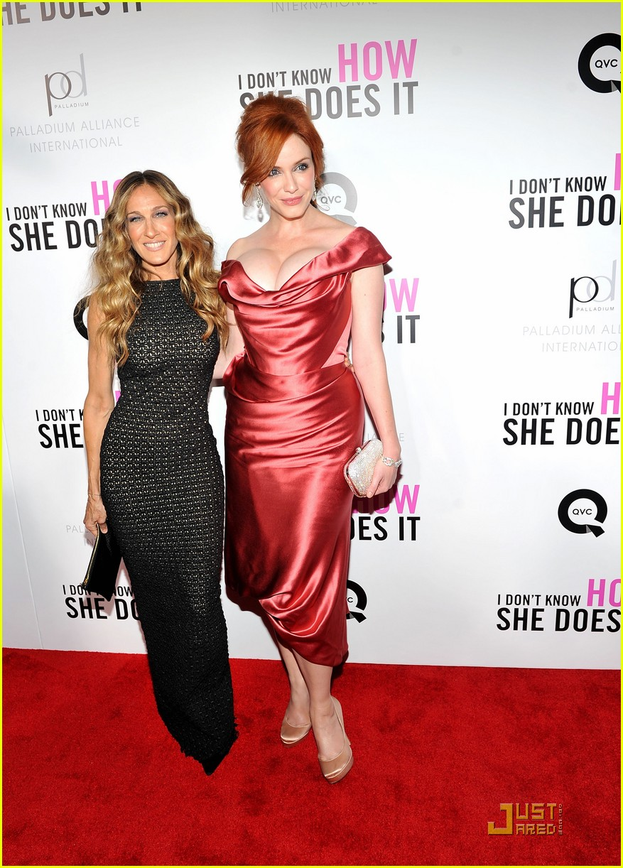 sarah jessica parker christina hendricks dont know premiere 03