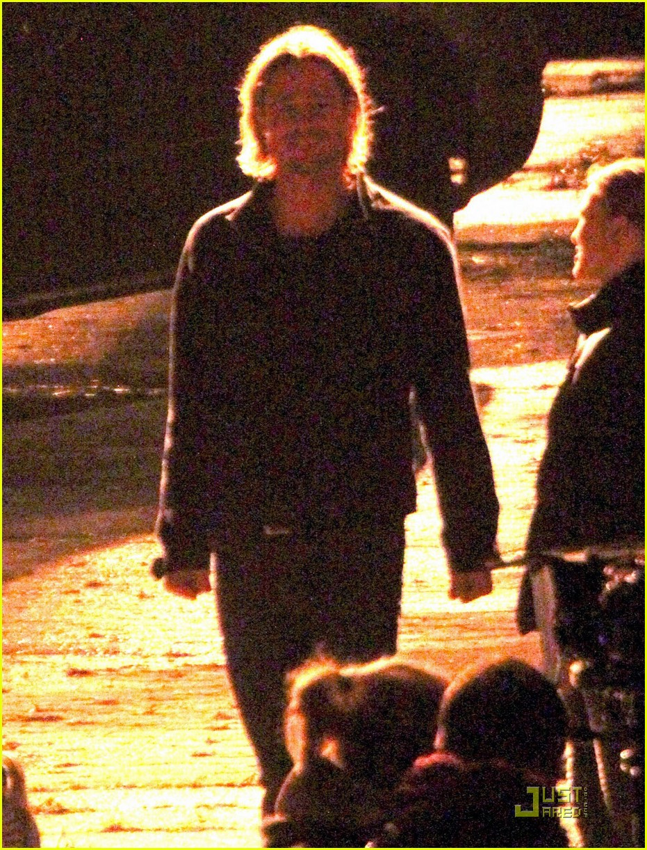 brad pitt late night world war z shoot 05