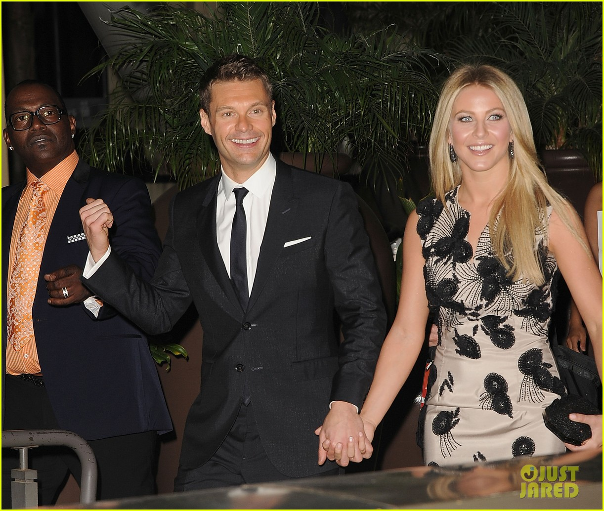 Full Sized Photo of ryan seacrest julianne hough la ...