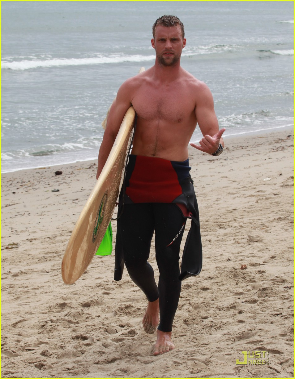 jesse spencer shirtless surfer 10