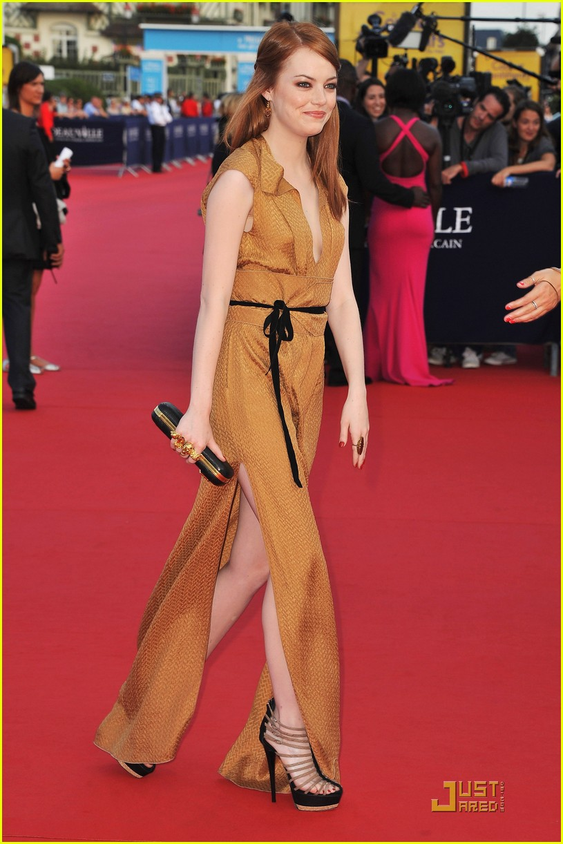 emma stone deauville film festival opening ceremony 01