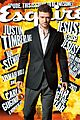 justin timberlake esquire cover
