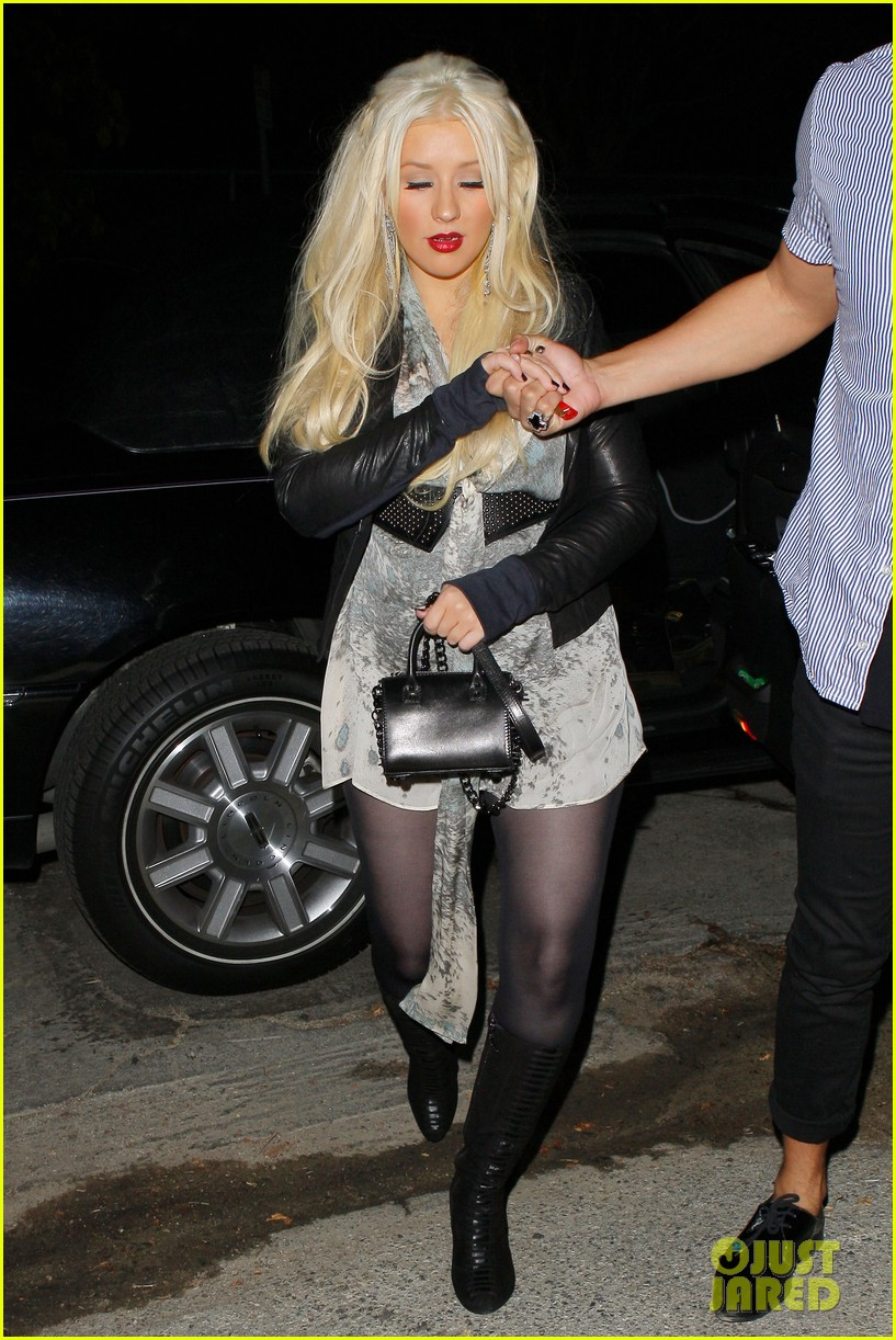 christina aguilera night out 06