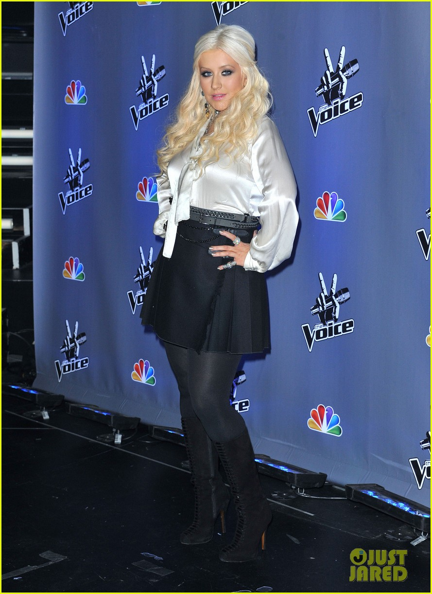 christina aguilera voice season two 022594763