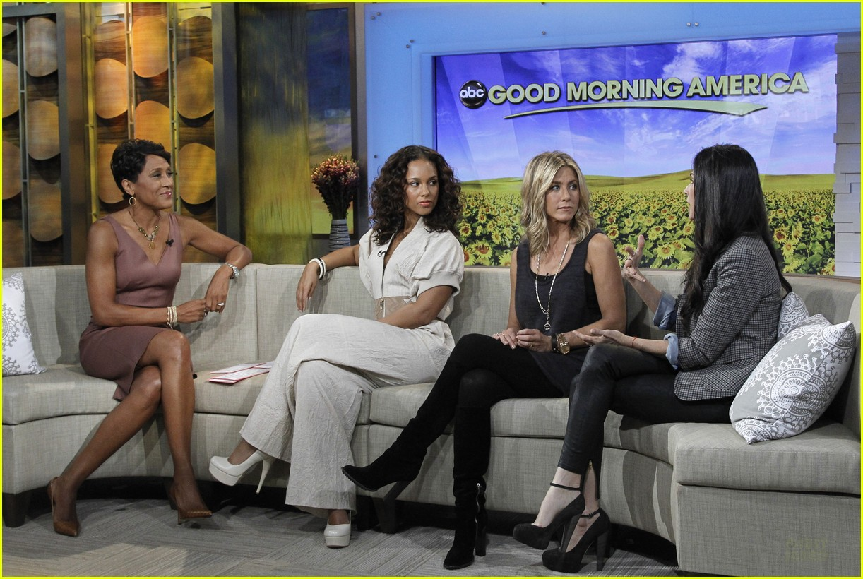 jennifer aniston demi moore alicia keys gma 06