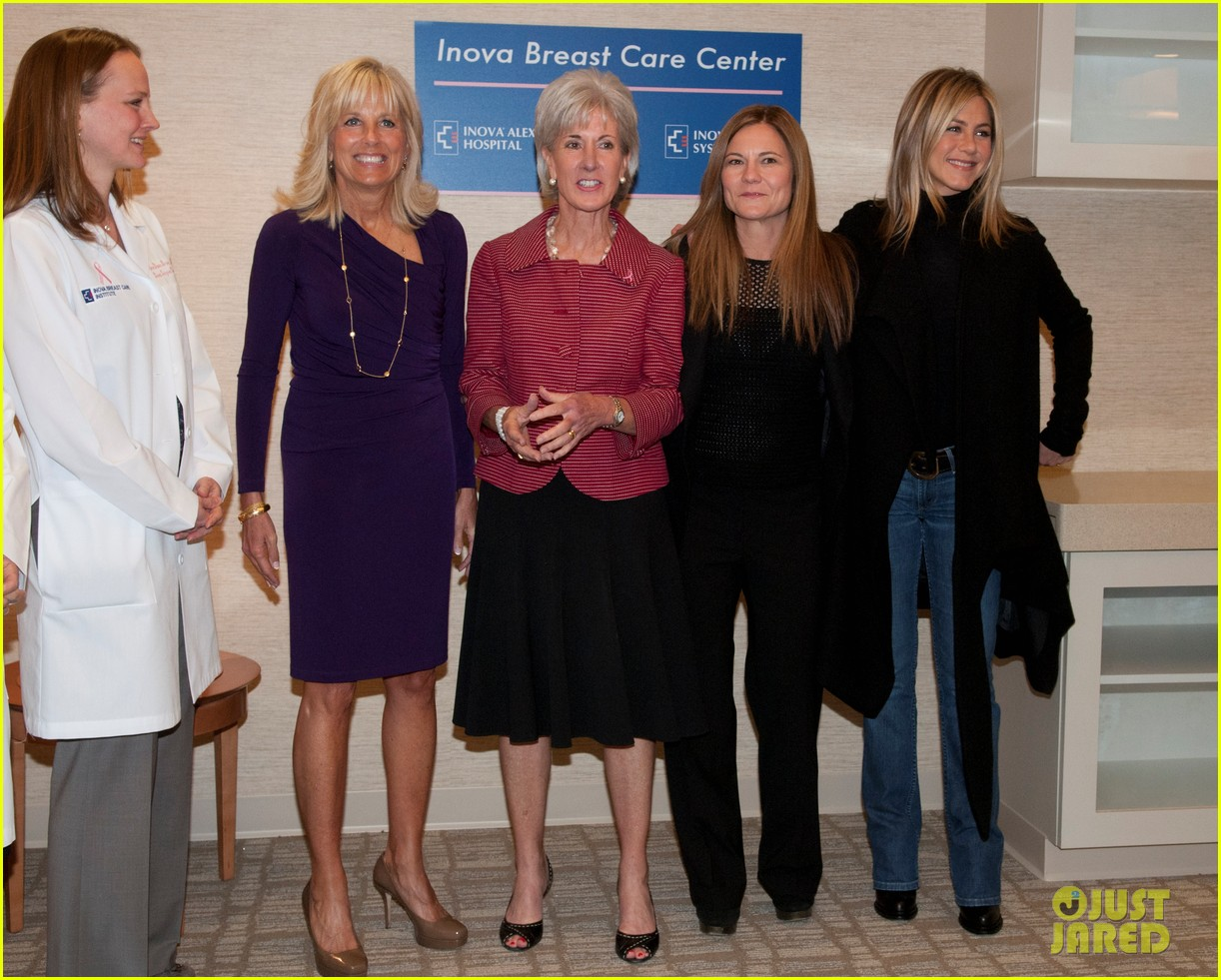 jennifer aniston hospital visit jill biden 04