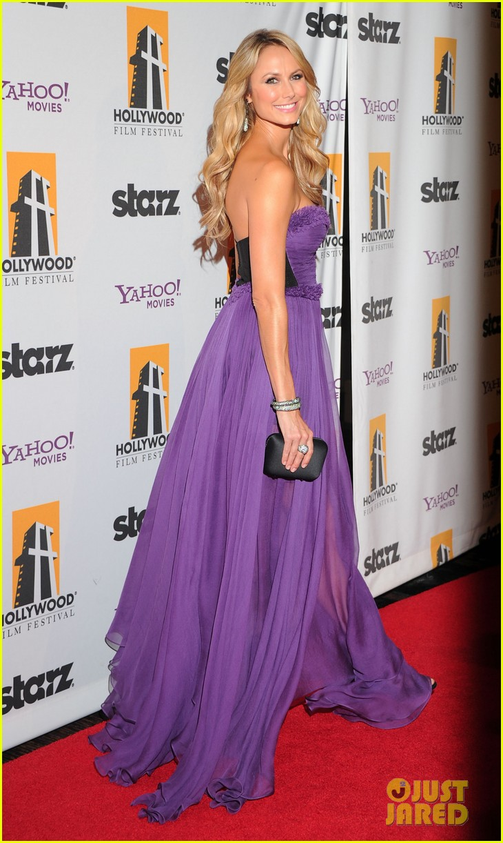 george clooney stacy keibler hollywood film awards 08