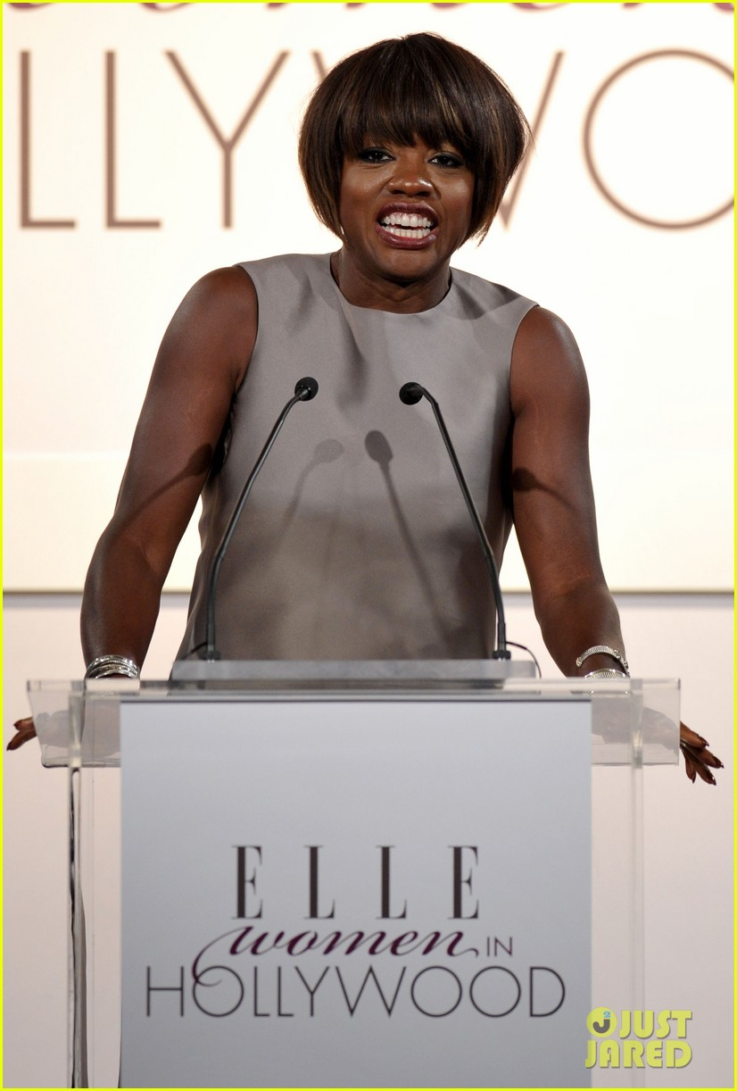 viola davis octavia spencer elle women hollywood tribute 09