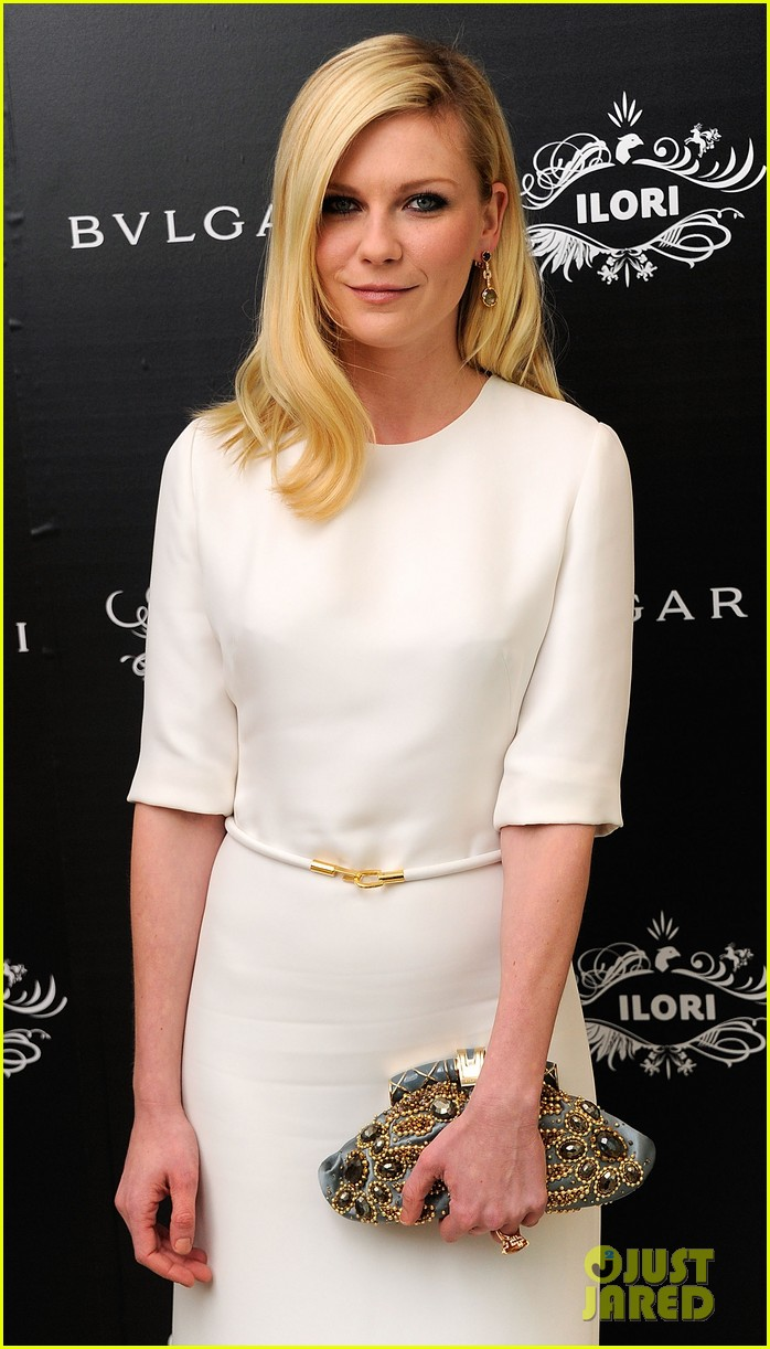 kirsten dunst bulgari eyewear launch 01