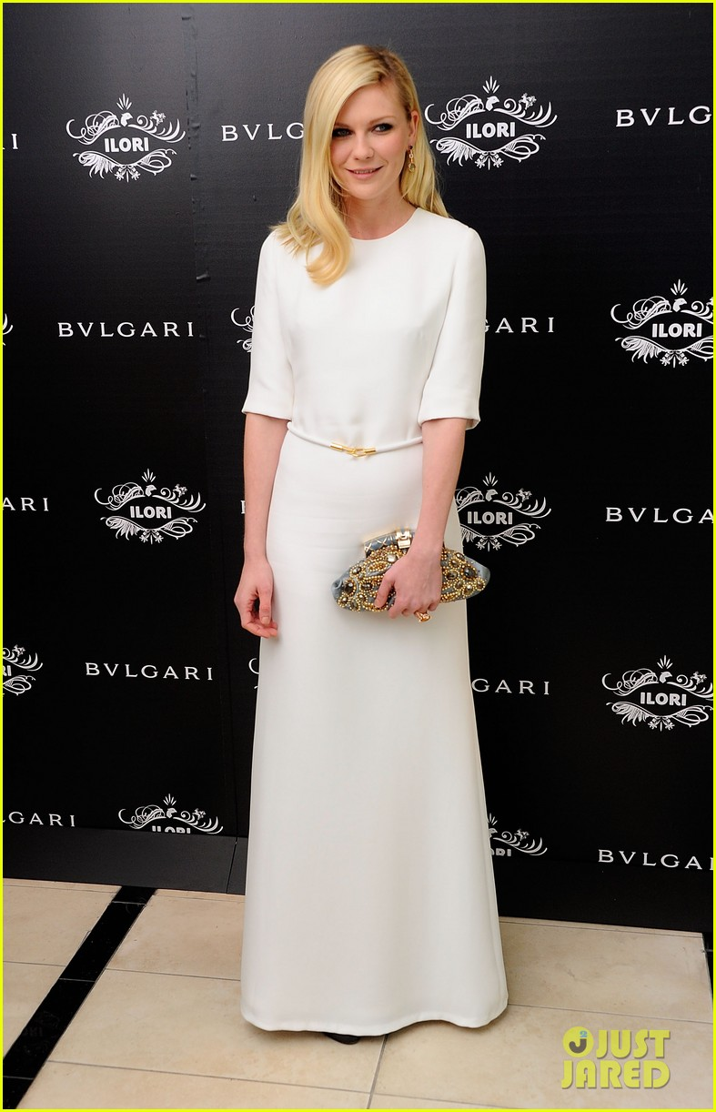 kirsten dunst bulgari eyewear launch 05