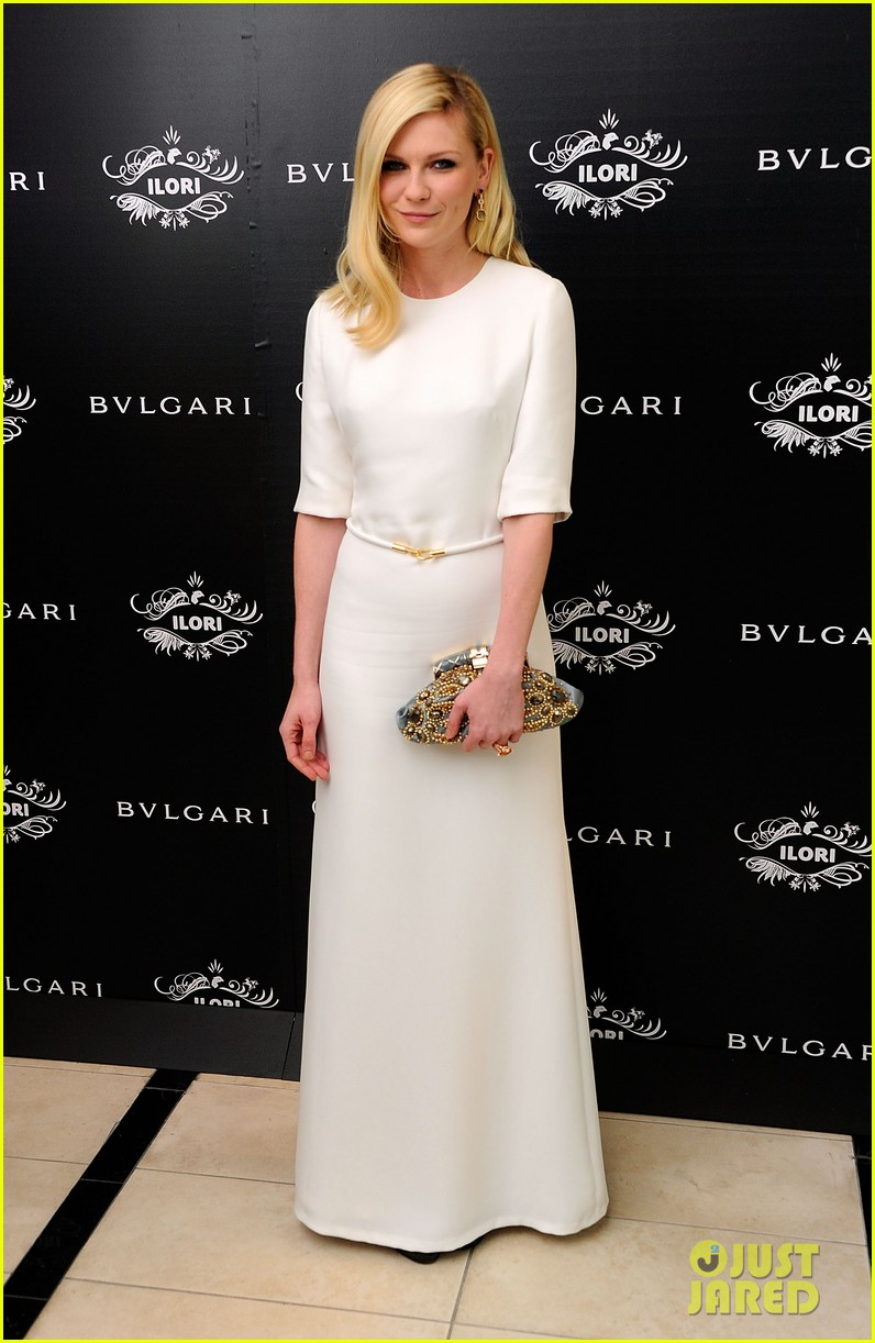 kirsten dunst bulgari eyewear launch 08
