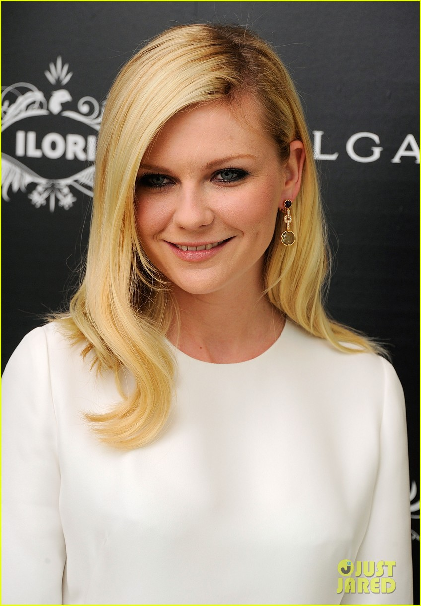 kirsten dunst bulgari eyewear launch 11