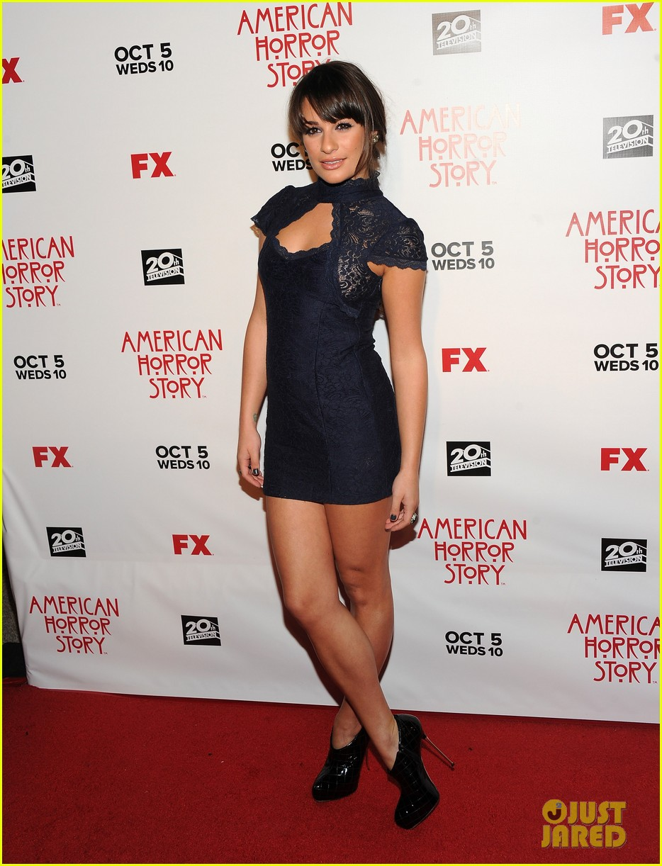 glee cast american horror story premiere 01