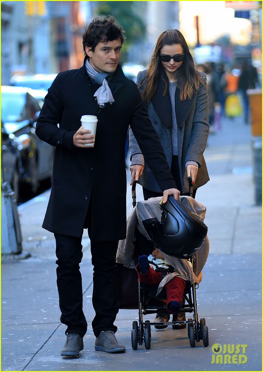 miranda kerr orlando bloom flynn nyc cold 01