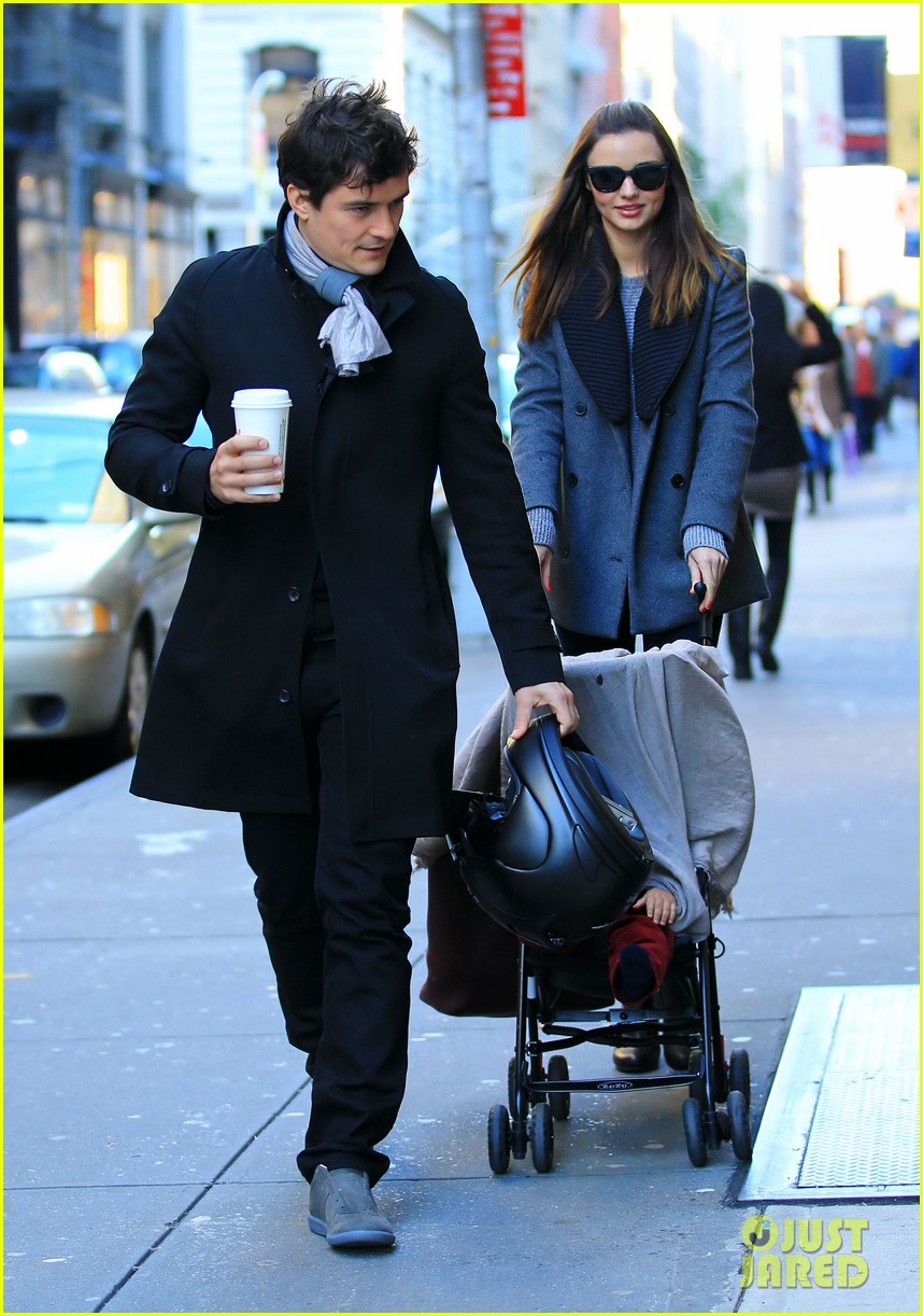 miranda kerr orlando bloom flynn nyc cold 03