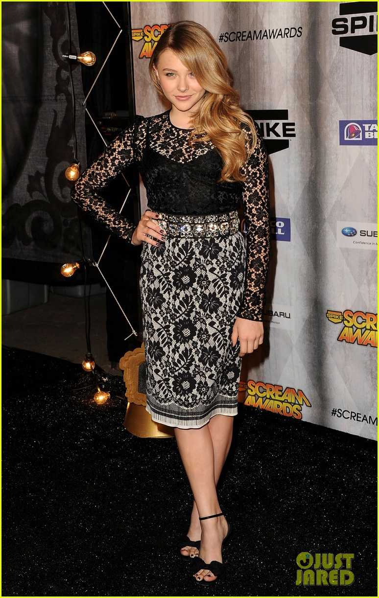 chloe moretz scream awards 2011 14
