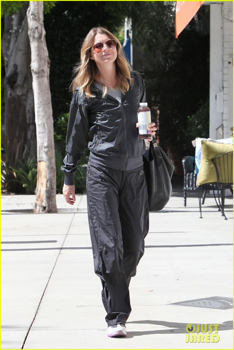 ellen pompeo parking meter workout 012587456