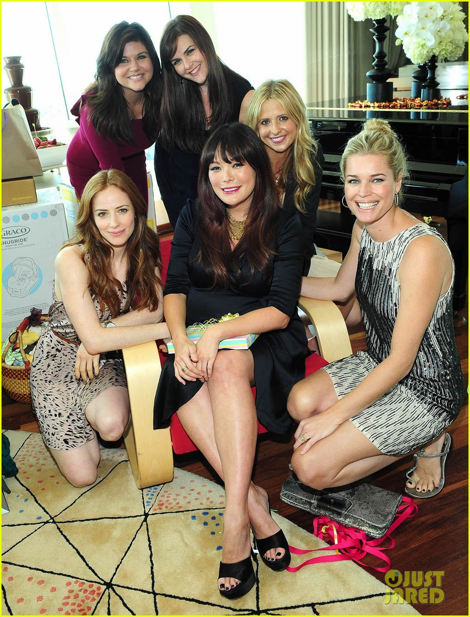 lindsay price sarah michelle baby shower 02