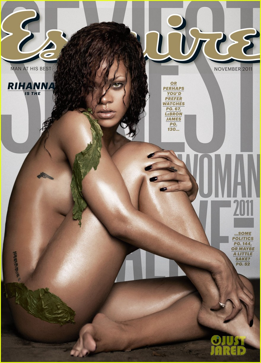 rihanna nude esquire november 2011 02