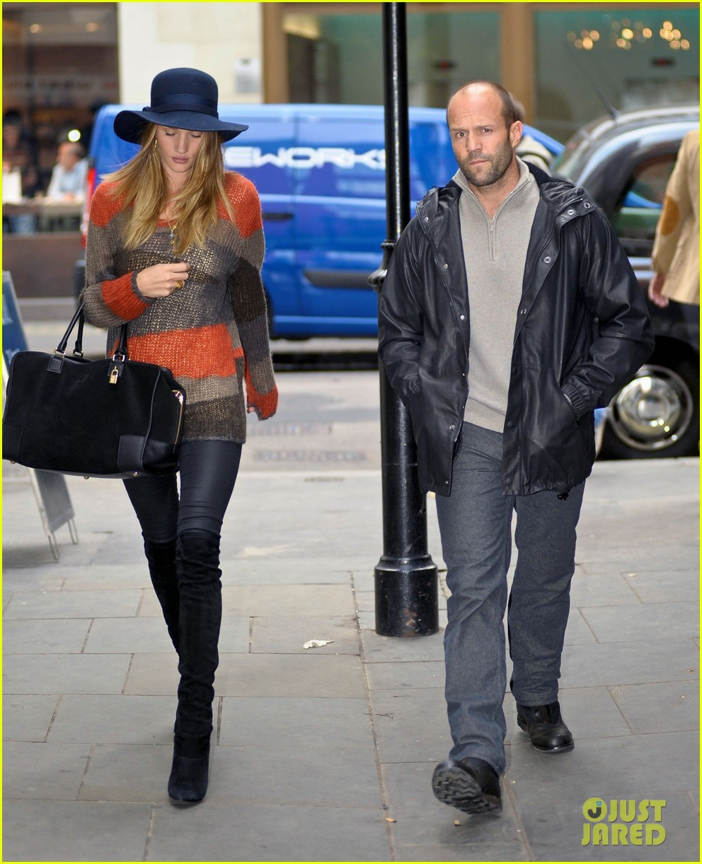 rosie huntington whiteley jason statham london 03