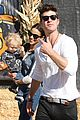 robin thicke paula patton pumpkin patch with julian 09