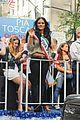 pia toscano parade float 02
