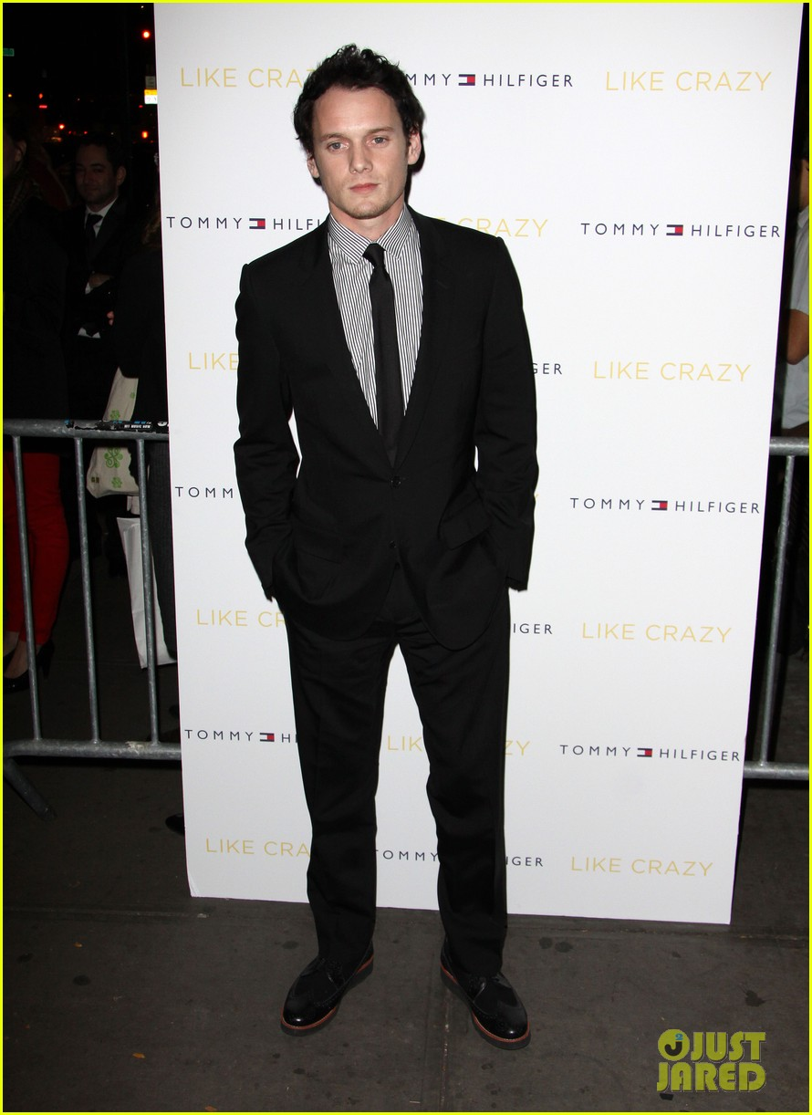 anton yelchin like crazy new york premiere with felicity jones 11