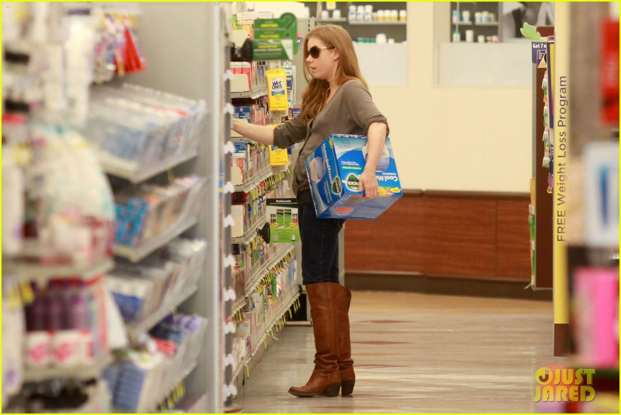 amy adams lunch errands with family 14