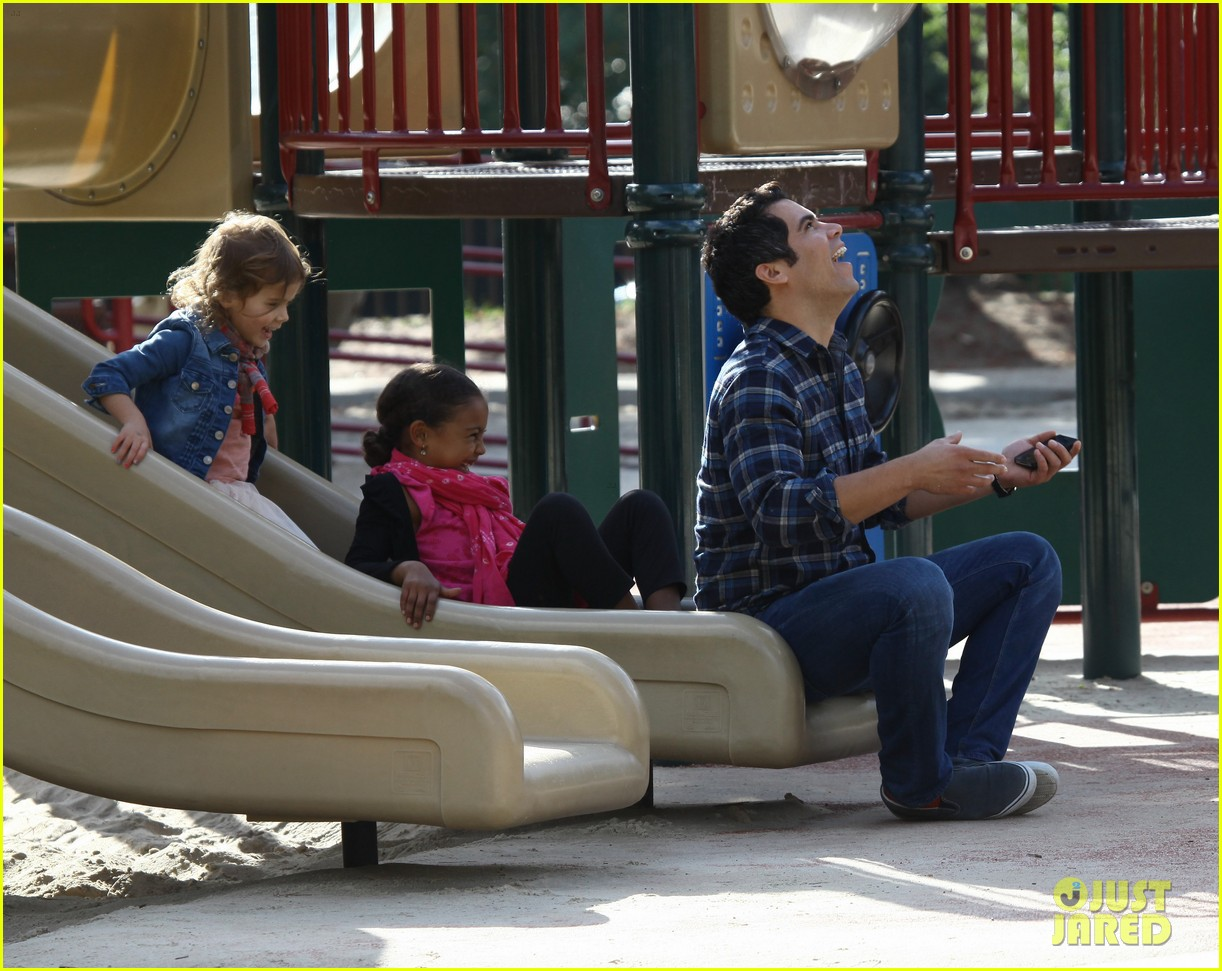 jessica alba park day family 10