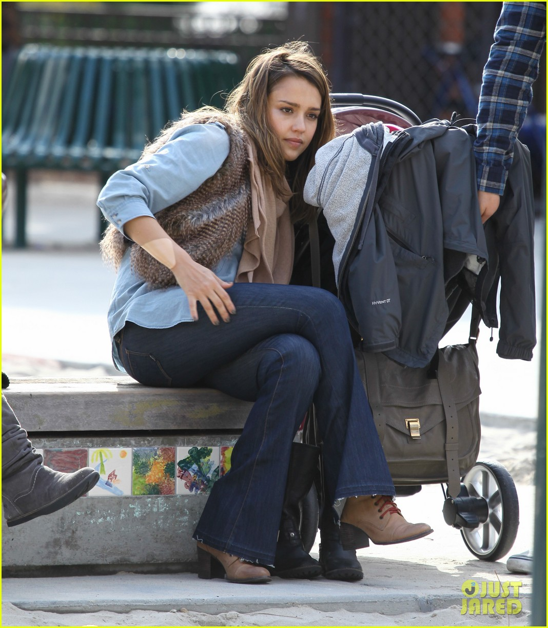 jessica alba park day family 29