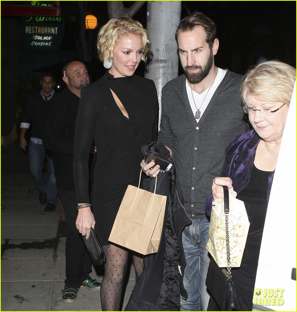 katherine heigl birthday dinner 02