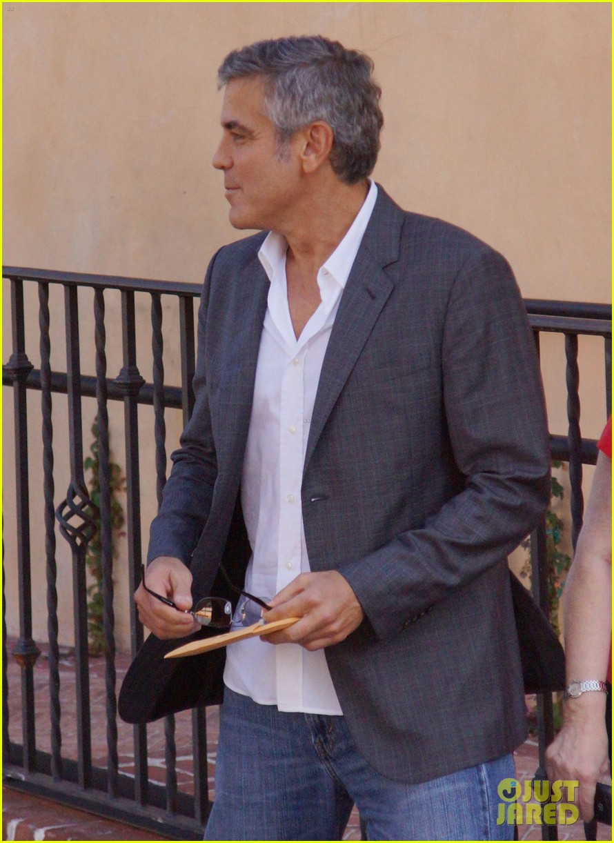 george clooney beau bridges lunch 06
