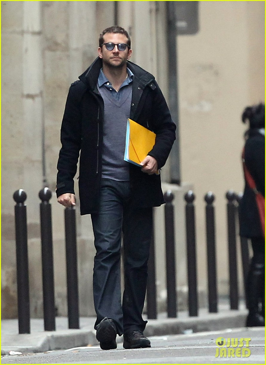 bradley cooper out and about in paris 01