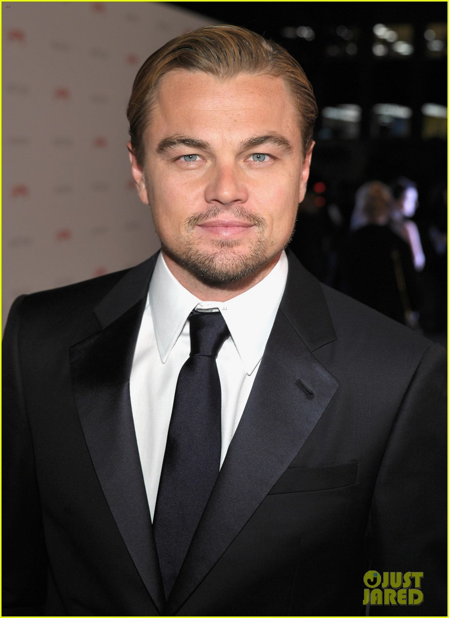leonardo dicaprio lacma gala with clint eastwood 022597180