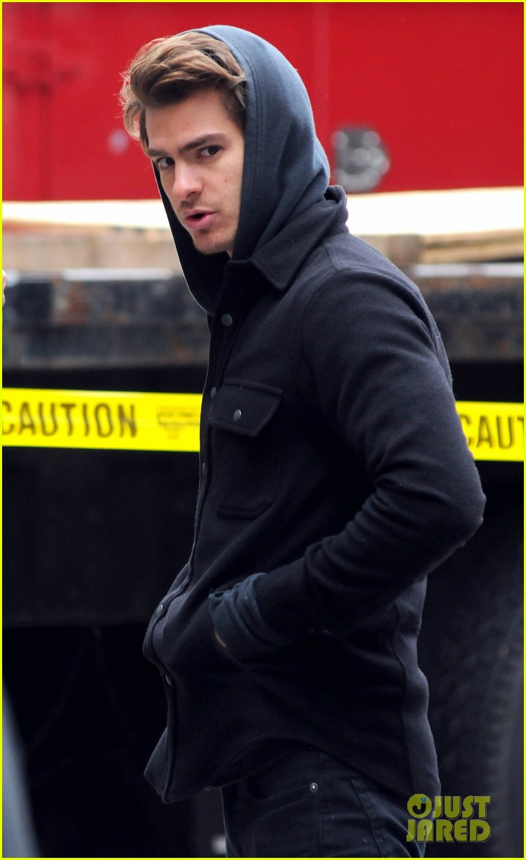 andrew garfield spider man reshoots 01