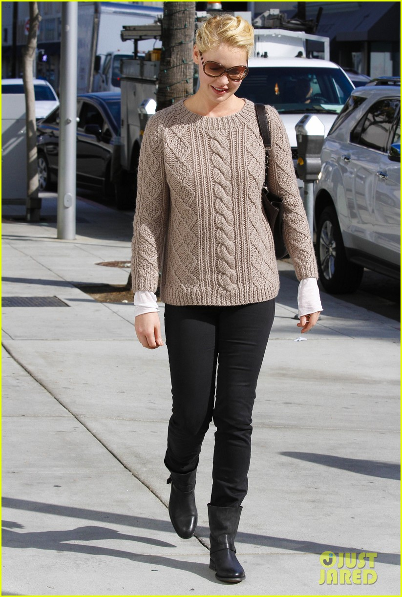 katherine heigl shopping mom dad 07