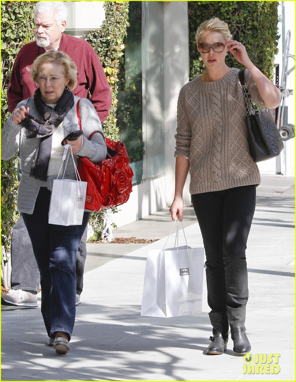 katherine heigl shopping mom dad 13